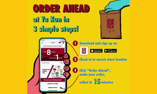 Order Ahead at Ya Kun